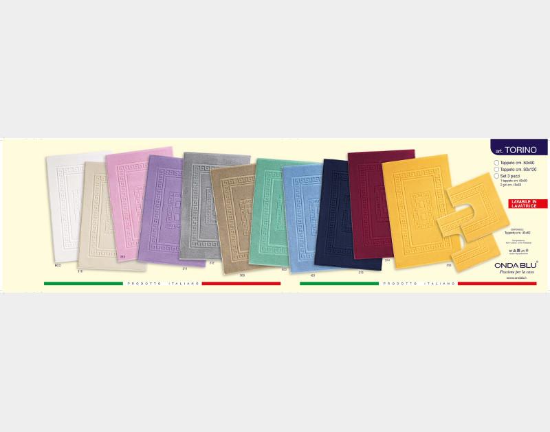 Tappeti Da Bagno Grandi Dimensioni : Tappeti e tappetini onda blu textile